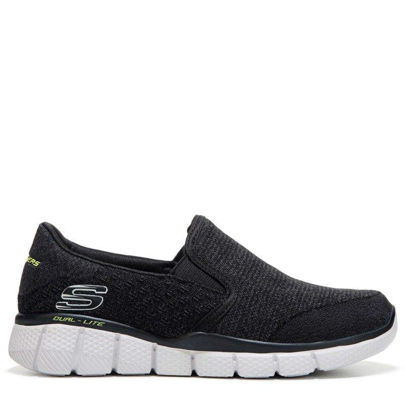 Skechers Kids' Equalizer 2.0 Sneaker Preschool/Grade School Shoes (Black)