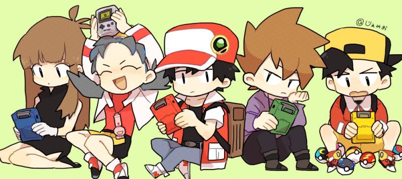 Original red image by red pokemon trainer red pokemon