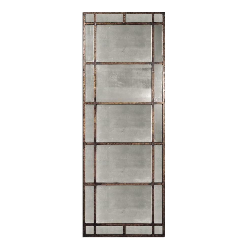 Home Decorators Collection 79 in. x 29 in. Antiqued Rustic-Bronze ...