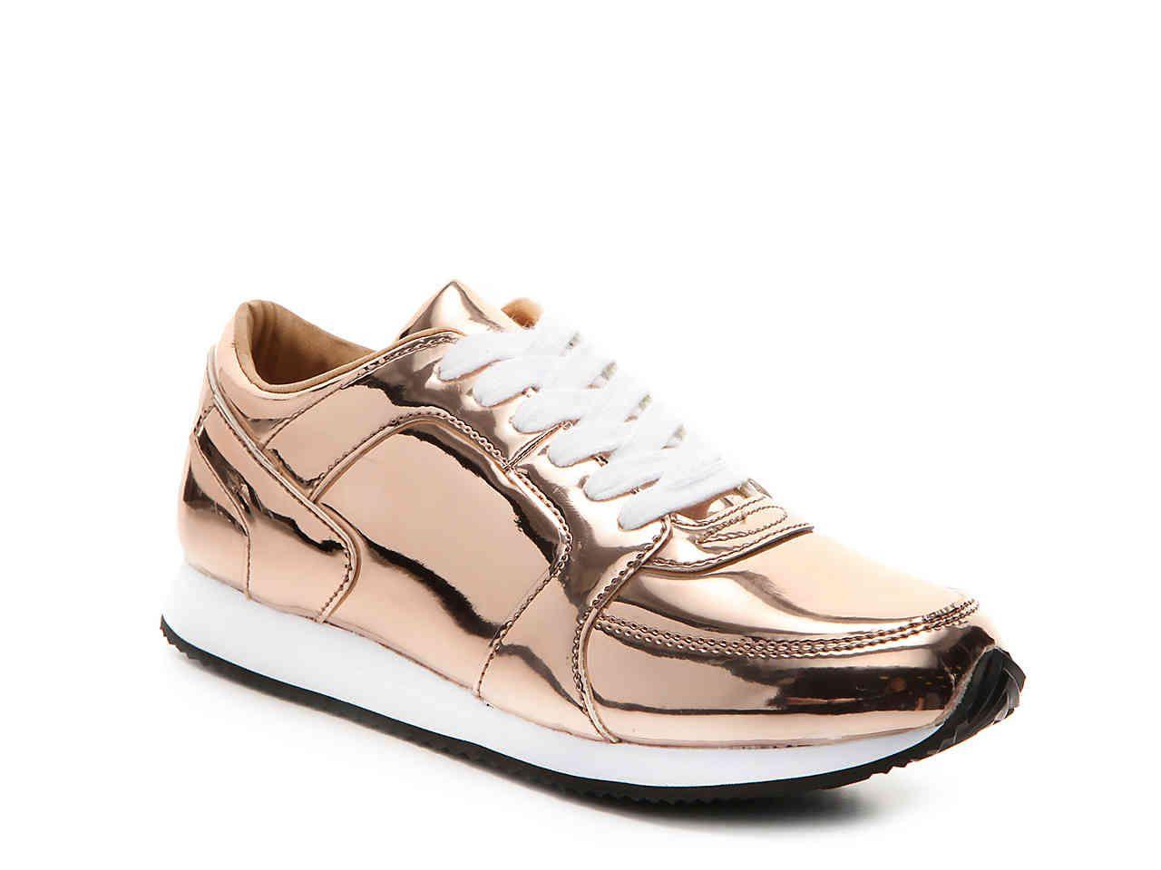 a84c37d7634 PENNY LOVES KENNY Techno Sneaker in Rose Gold Metalic