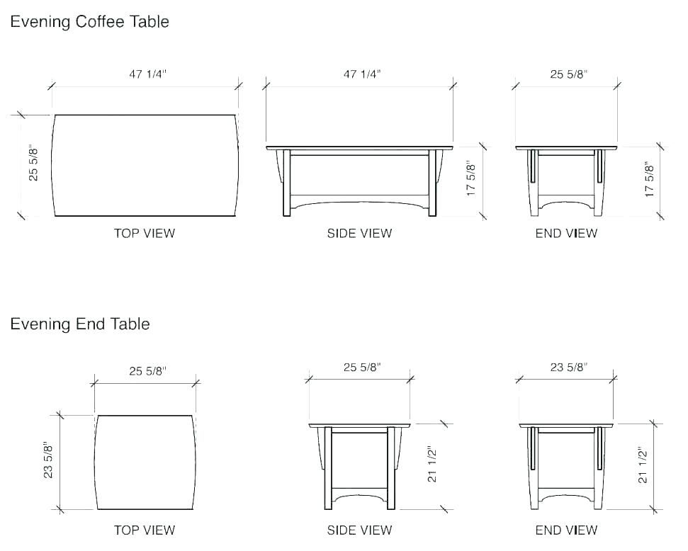 Shiny Average End Table Height Trend Average End Table Height 26 In Inpirational Kitchen Coffee Table Measurements Coffee Table Size Coffee Table Dimensions