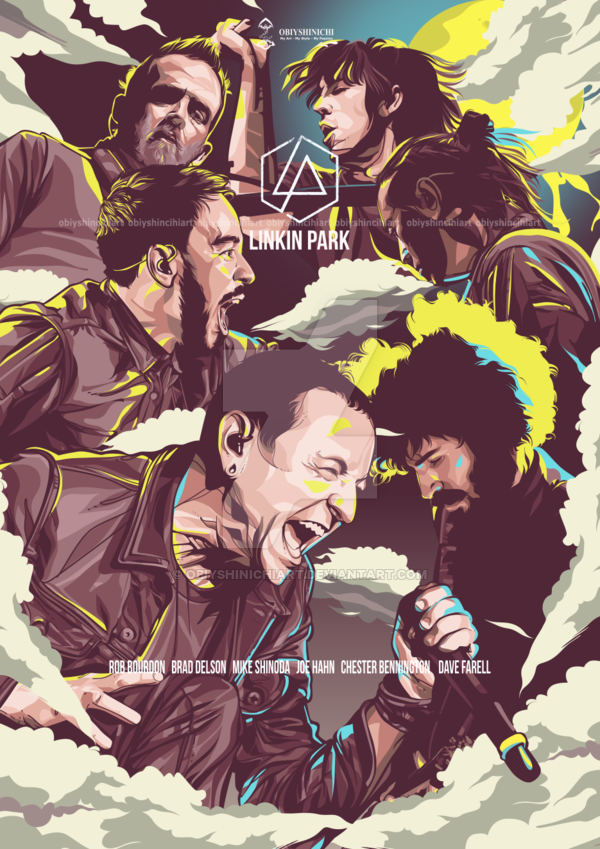 Linkin Park Poster Edition By Obiy Shinichi This Art You