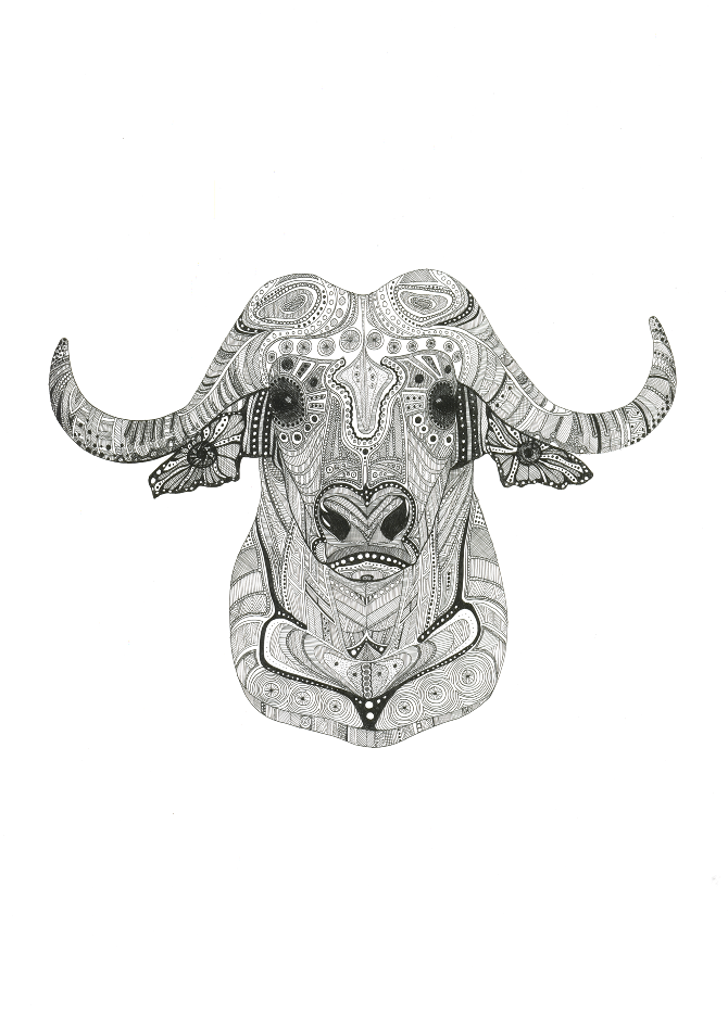 e3e9ba695 Water Buffalo Tattoo | tattoo aspirations | Buffalo tattoo, Buffalo ...