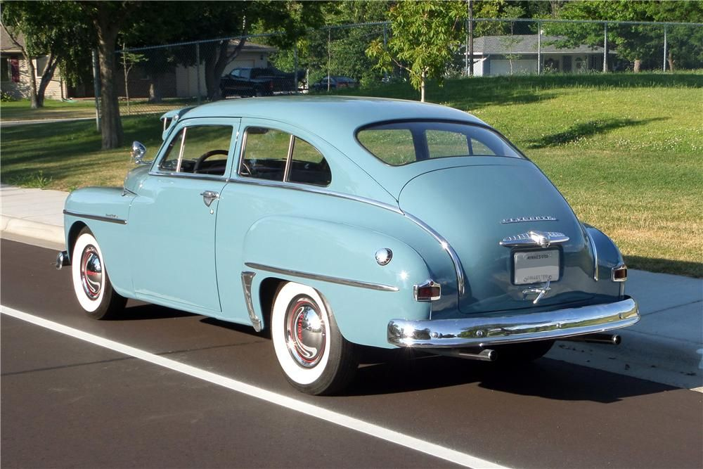 1950 Plymouth Deluxe 2 Door Sedan Barrett Jackson Auction