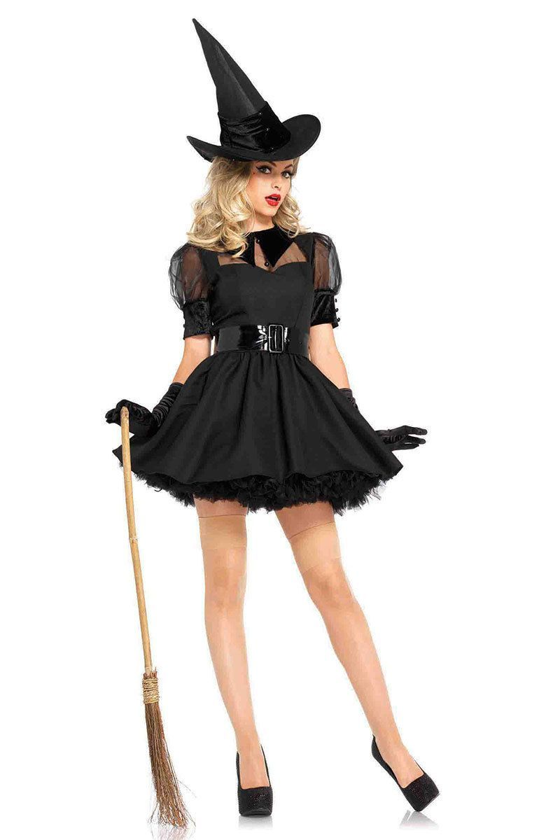889e0de47a3 Sexy Halloween Witch Costume in 2019 | costumes | Witch costume ...