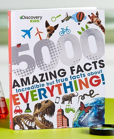 This Discovery Kids 5000 Facts Book Will Teach You Many Interesting Facts Explore Information About Science Discovery Kids Fun Facts Kids Learning Activities