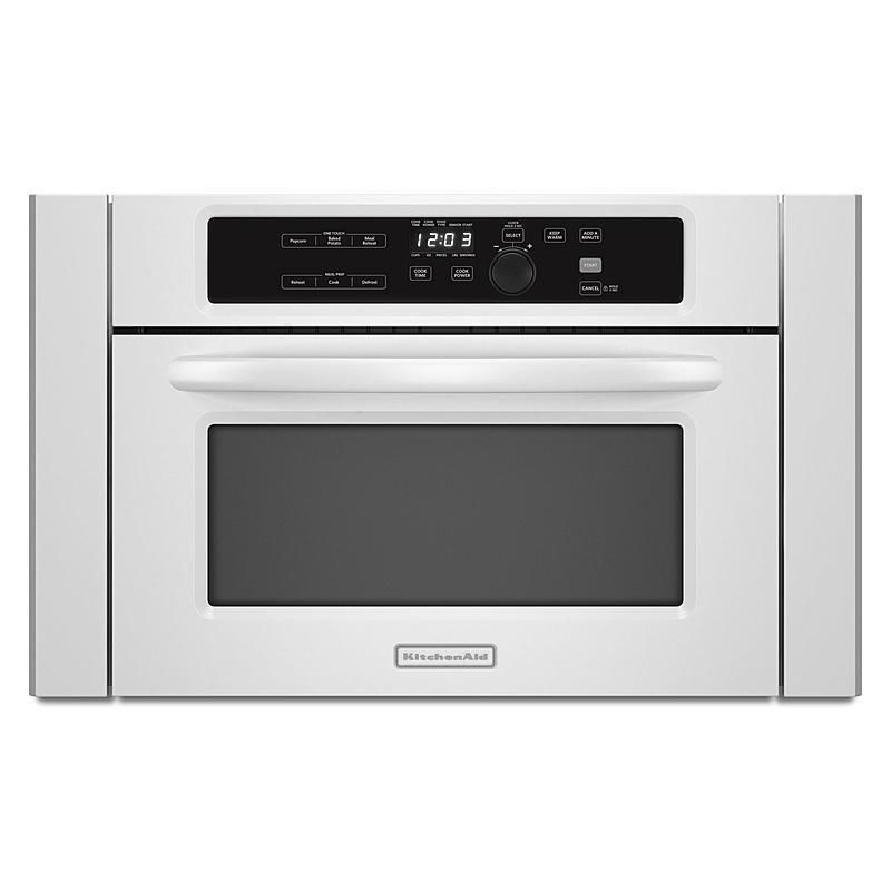 Featured Item Kitchenaid Kbms1454bwh 24 Built In Microwave Oven White