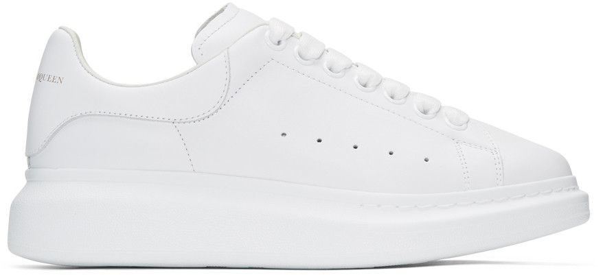 ALEXANDER MCQUEEN White Oversized Sneakers.  alexandermcqueen  shoes   sneakers 21eac112f26
