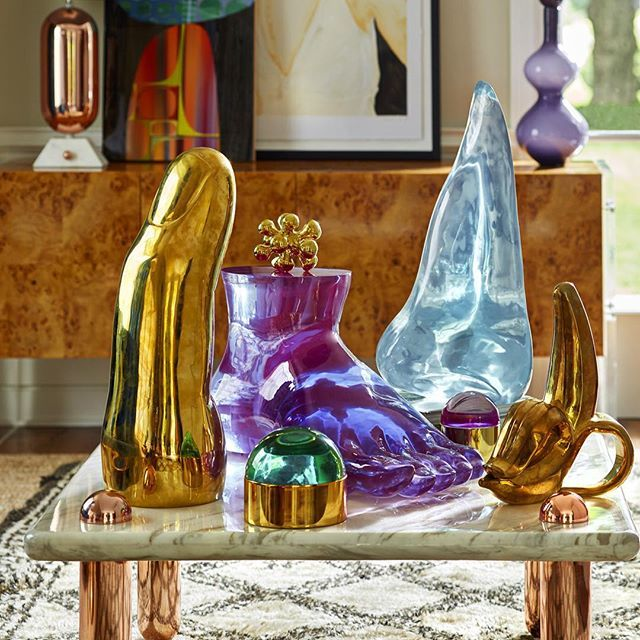 Hope your weekend is ULTRA fab! #lucite #brass