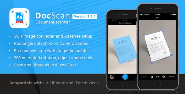 Download Free DocScan Document Scanner a4 adsense