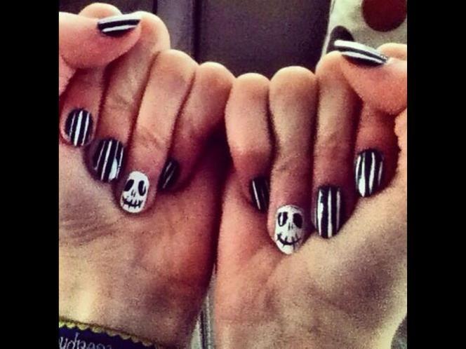 Halloween nail art: your frightening fingertips - Frightening Halloween nail art - MSN Her UK
