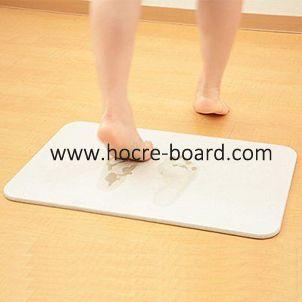 China Soil Bath Mat Similar With Japan Diatomite Bath Mat Fiber Cement Board Bath Mat Cement