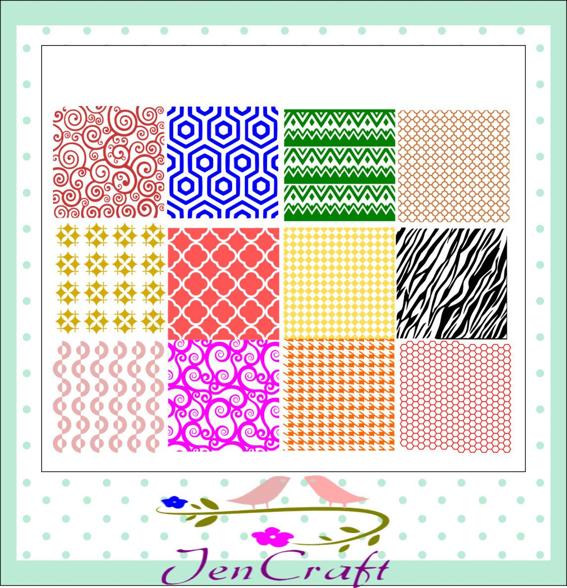 Background Patterns Svg, PNG, EPS, Dxf Files, Design Space