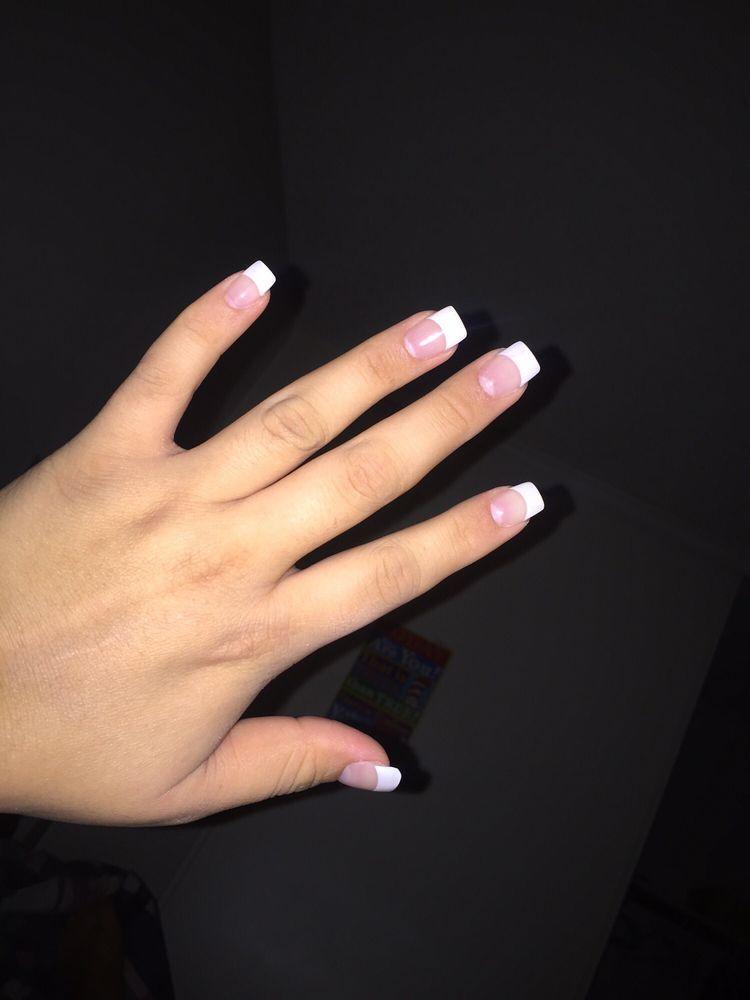 French acrylic nails   French Acrylic Nails   Pinterest   Finger ...