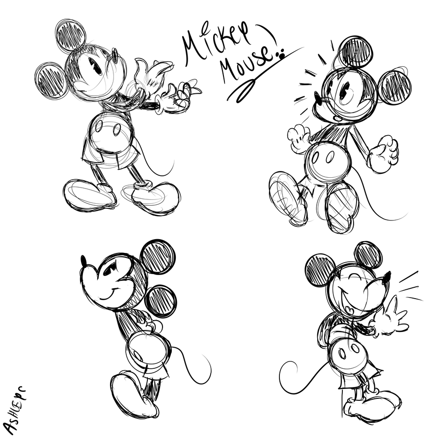 Image Result For Mickey Mouse Drawing Long Drawings