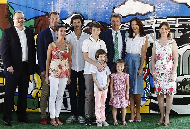 Danish royals reunited in rio for olympics danish royals and princess mary princess marie and their families reunite as the danish royals arrive at the rio olympics hello sciox Image collections