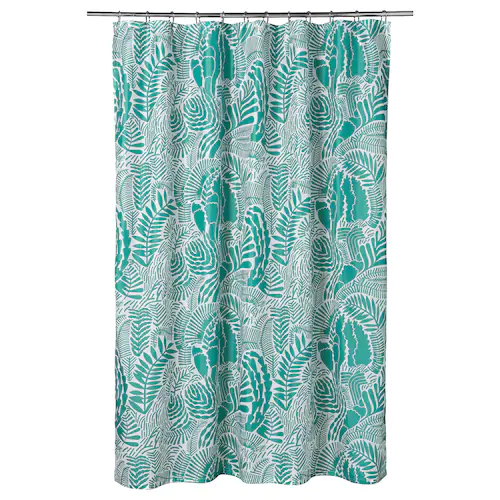 Bathroom Shower Curtain Rods Ikea In 2020 Shower Curtain Rings Shower Curtain Shower Curtain Rods