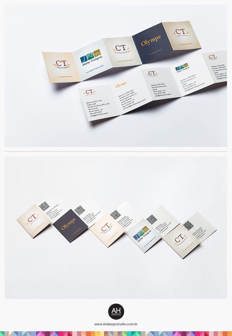 AHdesign Studio, Papelaria para Restaurantes Troisgros #design ...
