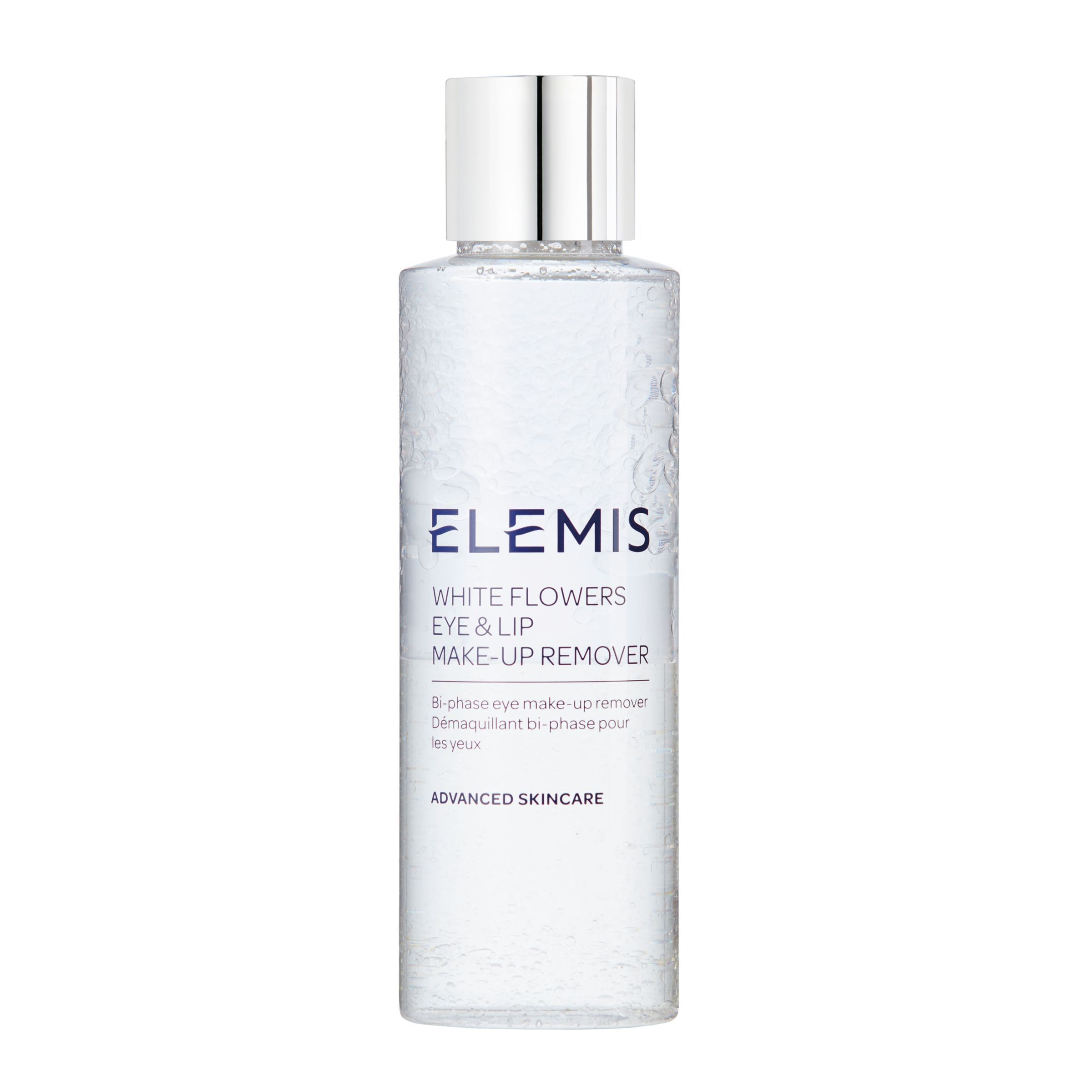 Elemis White Flowers Eye And Lip Makeup Remover, 125ml in