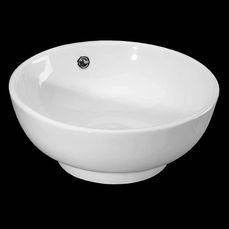 73,- Hudson Reed VESSEL ronde vrijstaande keramische waskom - d ...