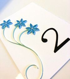 Wedding Table Numbers - Wedding Decorations - Page 56