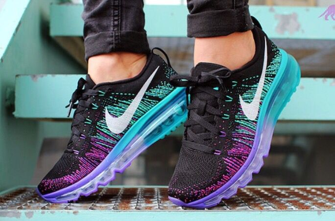Nike Flyknit Air Max in Fuchsia Flash | Adidas shoes women
