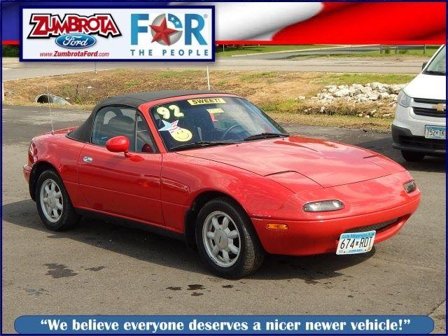 1992 Mazda Mx 5 Miata Base 3 500 Zumbrota Mn 197 Mi Mazda Mx5 Miata Mazda Mx5 Miata