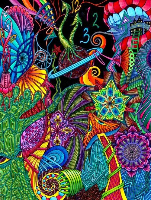 Pin by rmy habasque on acid colors pinterest psychedelic all about art tattoo studio rangiora quality work by professional artist voltagebd Choice Image