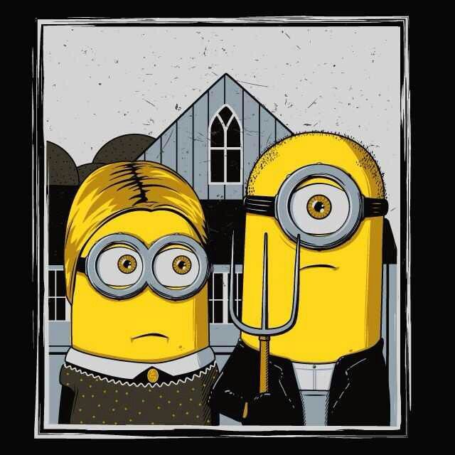 American Gothic Minions
