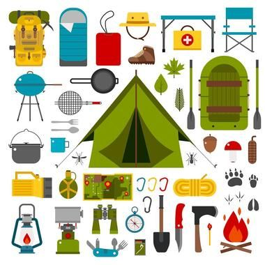 45 Essentials For Camping Checklist #essentialsforcamping