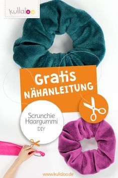 Quick Tut Video: Scrunchie nähen | kullaloo