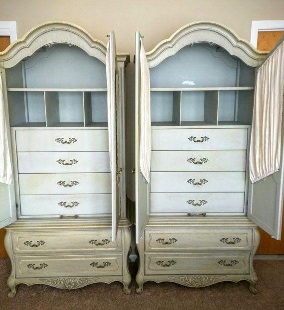 good provincial franais armoire penderie par hickory par with armoire double penderie. Black Bedroom Furniture Sets. Home Design Ideas