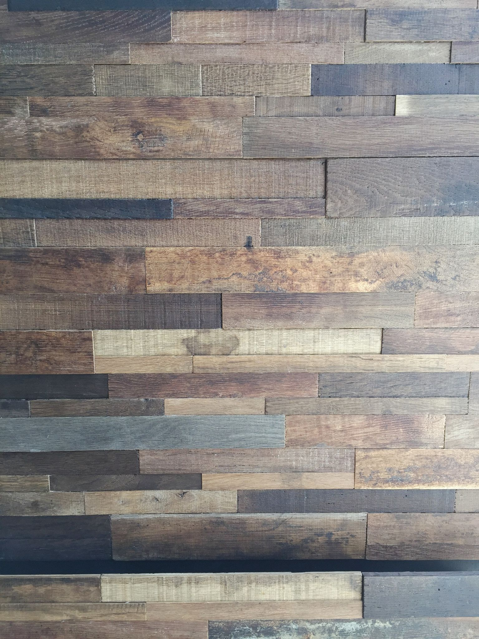 15sf reclaimed wine soaked stacked wall panels wood on wall paneling id=73822