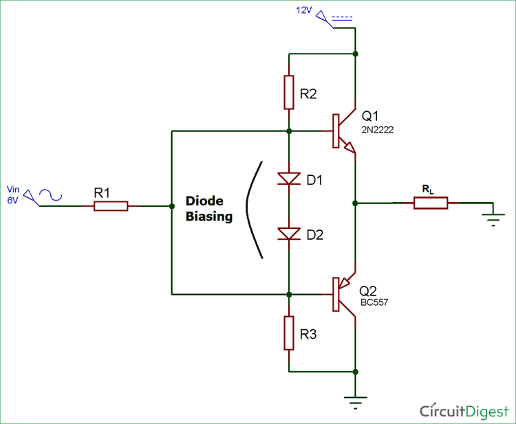 Push Pull Amplifier Schematic - Your Wiring Diagram
