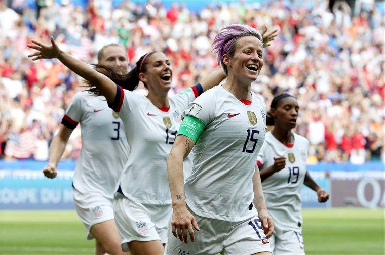 U S Women S Soccer Team Wins 2019 World Cup Over The Netherlands In 2 0 Final Women S Soccer Team Womens Soccer Soccer