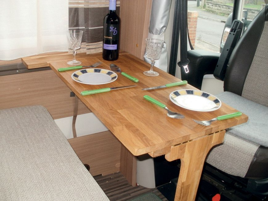 How To Make A Folding Dinette Table For Your Motorhome Double