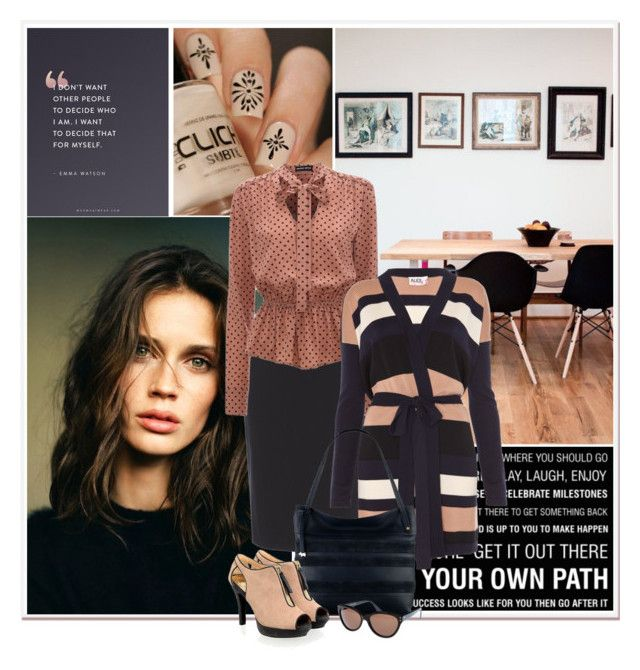 Blush Navy By Gustosa Liked On Polyvore Featuring Therapy Austin Reed Alice By Temperley Radley And Emma Watson Fashion Polyvore Austin Reed