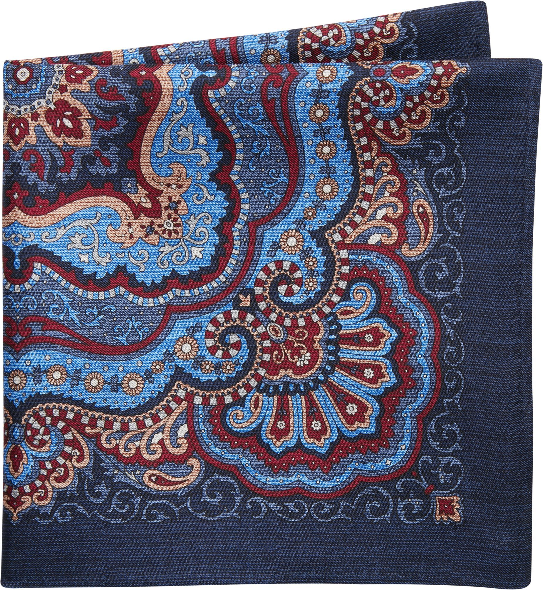 Jos. A. Bank Large Paisley Medallion Pattern Pocket Square #pocketsquares