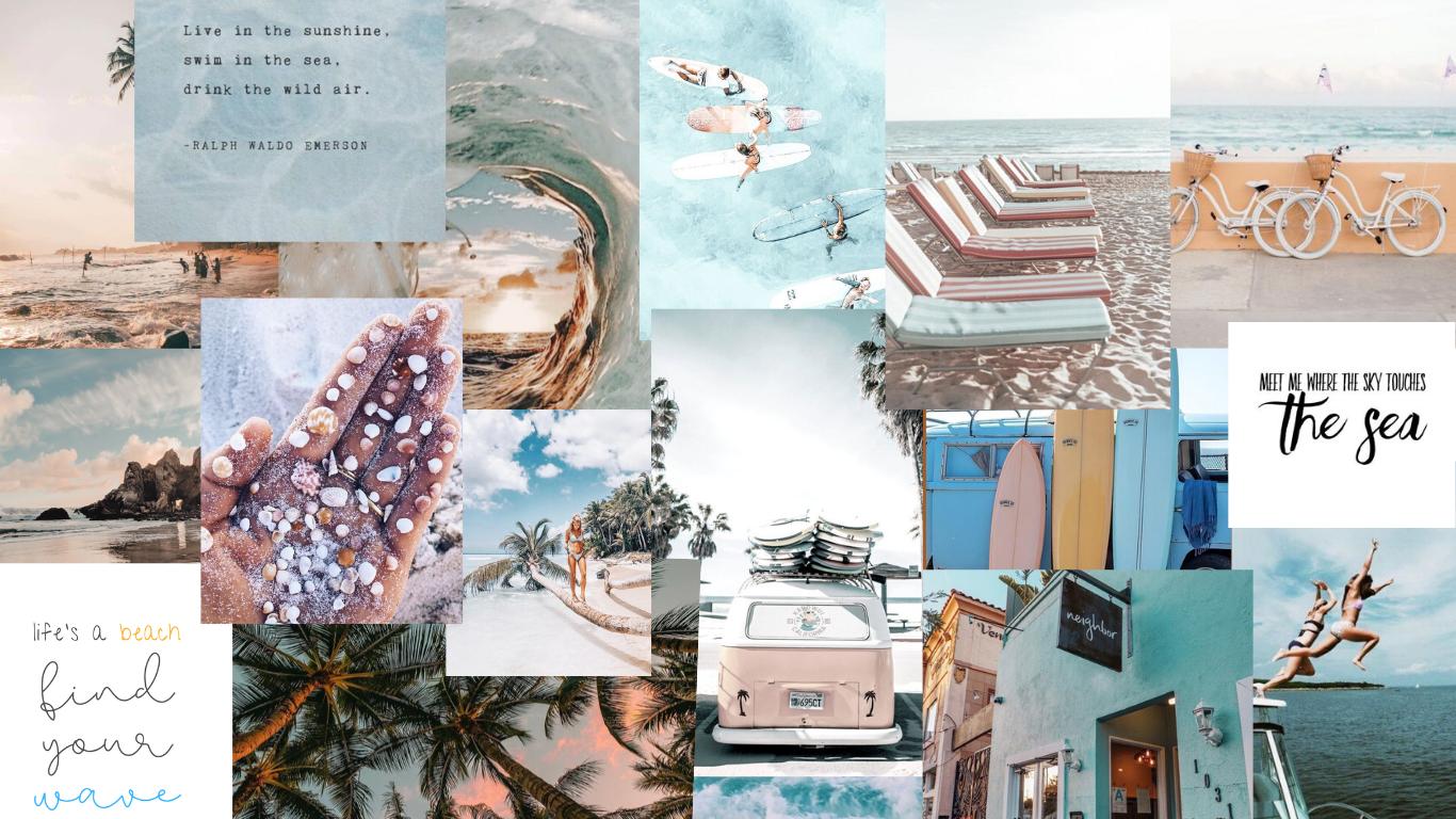 Beachy Wallpaper Beachy Wallpaper Wallpaper Iphone Christmas Macbook Air Wallpaper