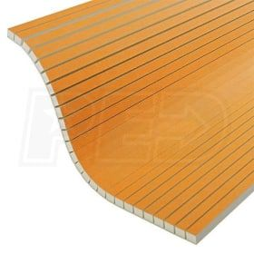 Schluter Kerdi Board V 3 4 Thick Grooved Waterproof Substrate Building Panel 24 1 2 W X 96 L Qty 6 Paneling Substrate Waterproof