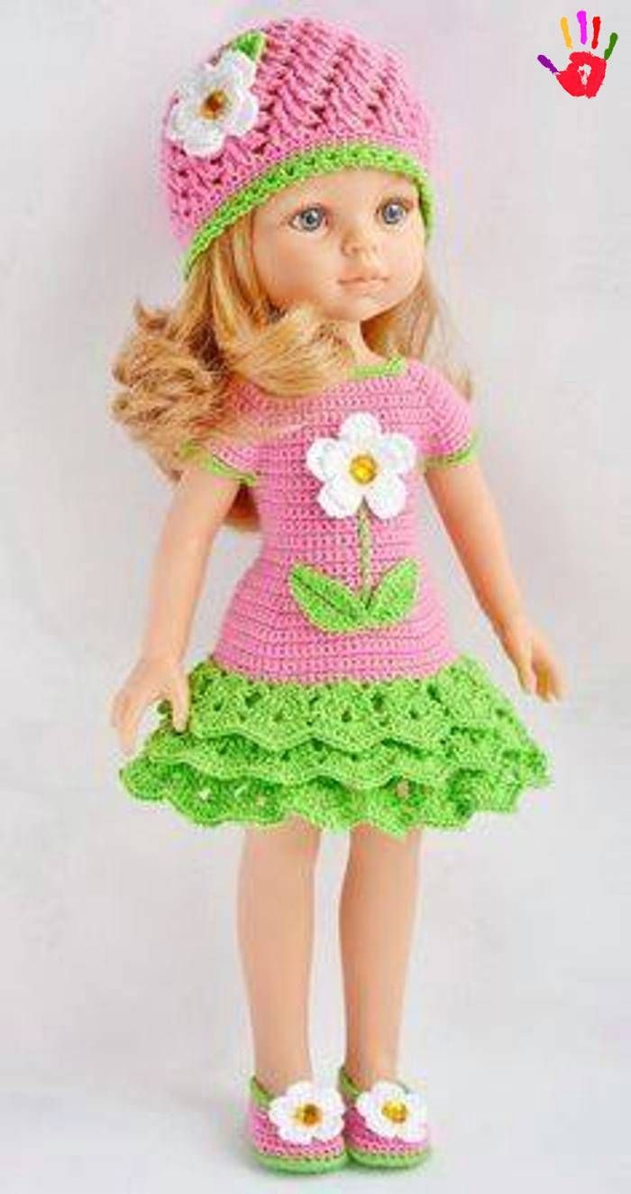 orgu-oyuncak-bebek-elbiseleri- (23) #americandolls
