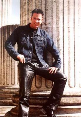 Michael Wendler Leather Pants Famous Men Leather Jacket