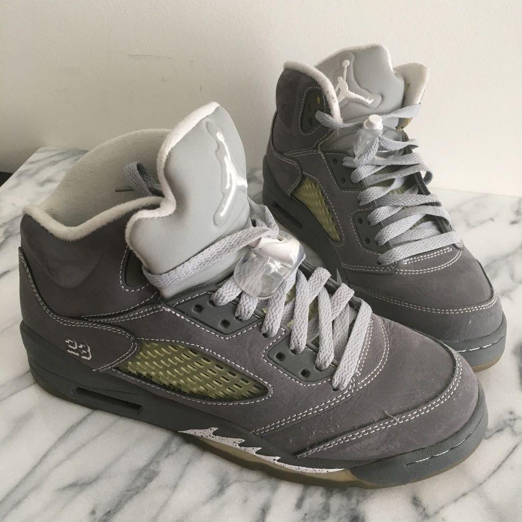 46d6902d9b3 Jordan Shoes | Nike Air Jordan 5 Retro Wolf Grey (Aj5, Jumpman) | Color:  Gray/White | Size: 6.5