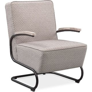 Crosby Accent Chair Gray Accent Chairs Furniture