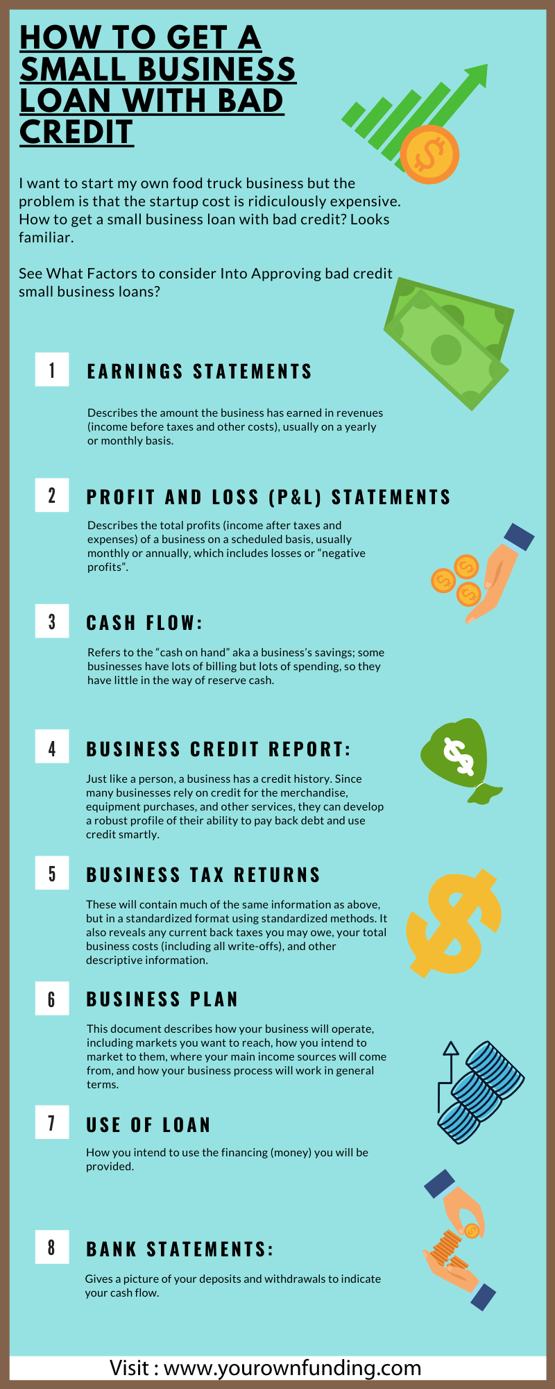 How To Get A Small Business Loan With Bad Credit In 2020 Loans For Bad Credit Bad Credit Business Loans