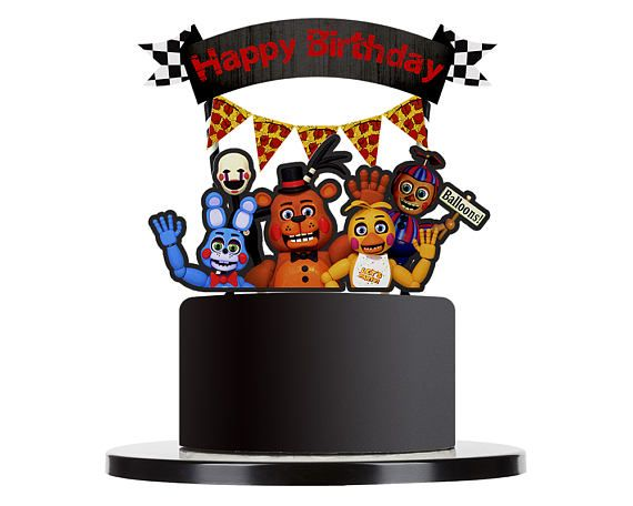 Pin On Five Night S At Freddy S Birthday