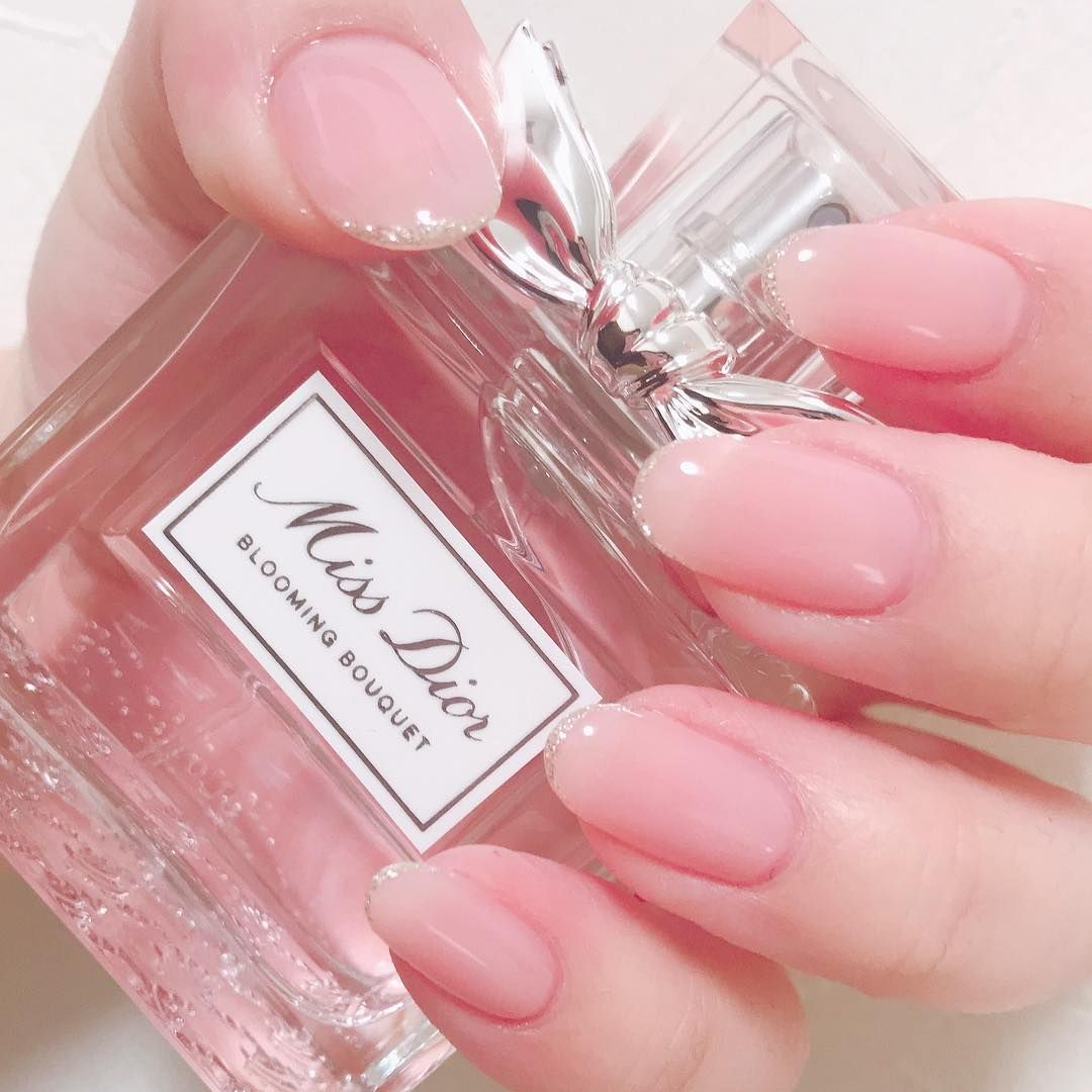 くりあぴんく ネイル ジェルネイル シンプルネイル ピンク