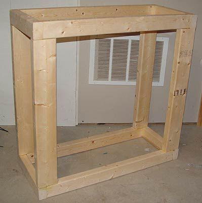 DIY Aquarium stand with canopy & DIY Aquarium stand with canopy | Saltwater aquarium | Pinterest ...