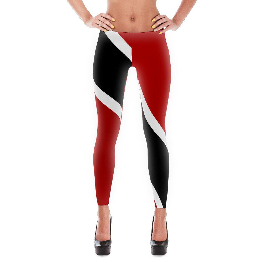 Trinidad and Tobago Flag Womens Bodysuit Jumpsuit