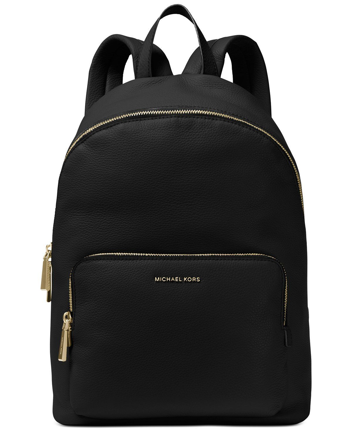 3bb2bef54317 MICHAEL MICHAEL KORS Wythe Large Perforated Leather Backpack Solid Black     Learn more by visiting the image link. (This is an affiliate link)   ...